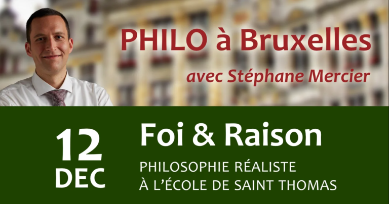 Foi & Raison - Stéphane Mercier