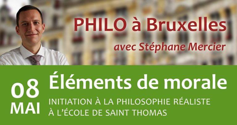 Éléments de morale - Stéphane Mercier