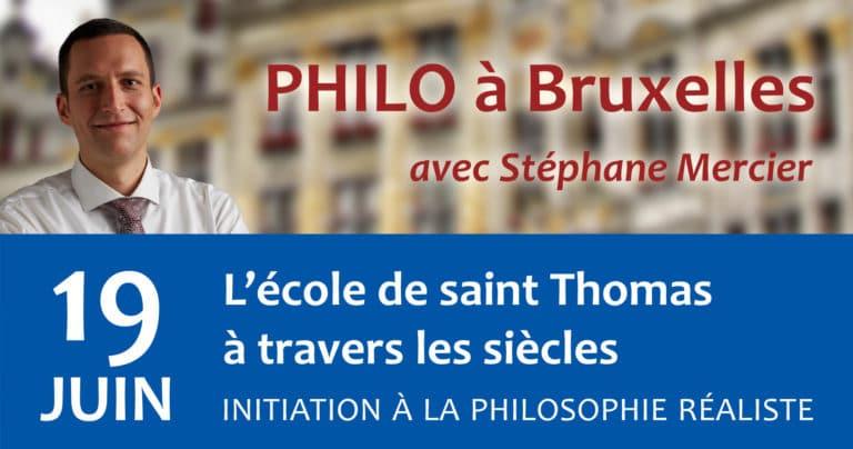 L'école de saint Thomas à travers les siècles - Stéphane Mercier