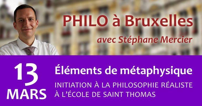 Éléments de Métaphysique - Stéphane Mercier