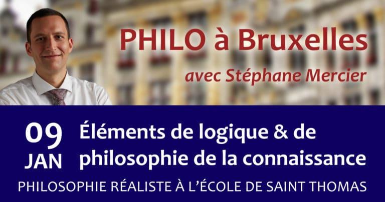 Logique & philosophie de la connaissance - Stéphane Mercier