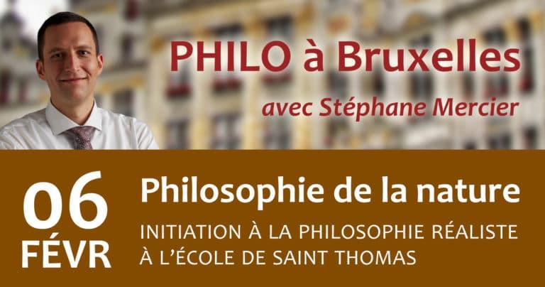 Philosophie de la nature - Stéphane Mercier