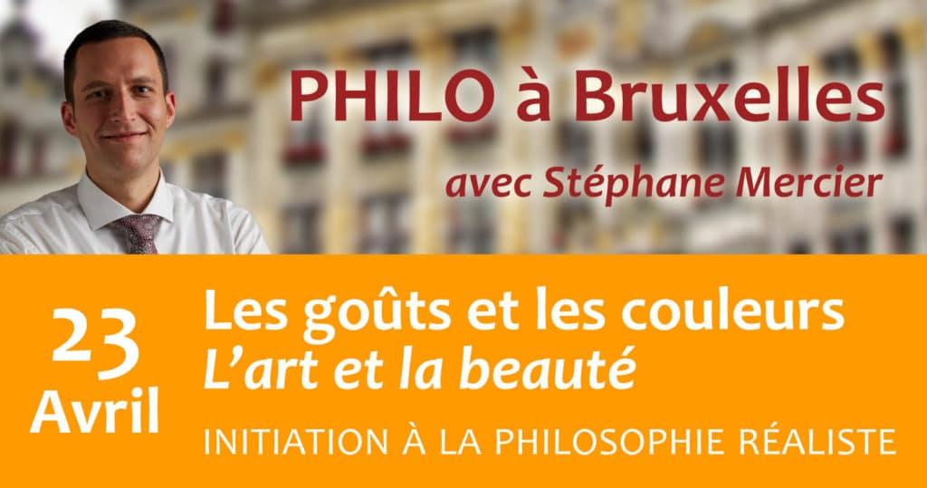 Les goûts et les couleurs : L'art et la beauté - Stéphane Mercier