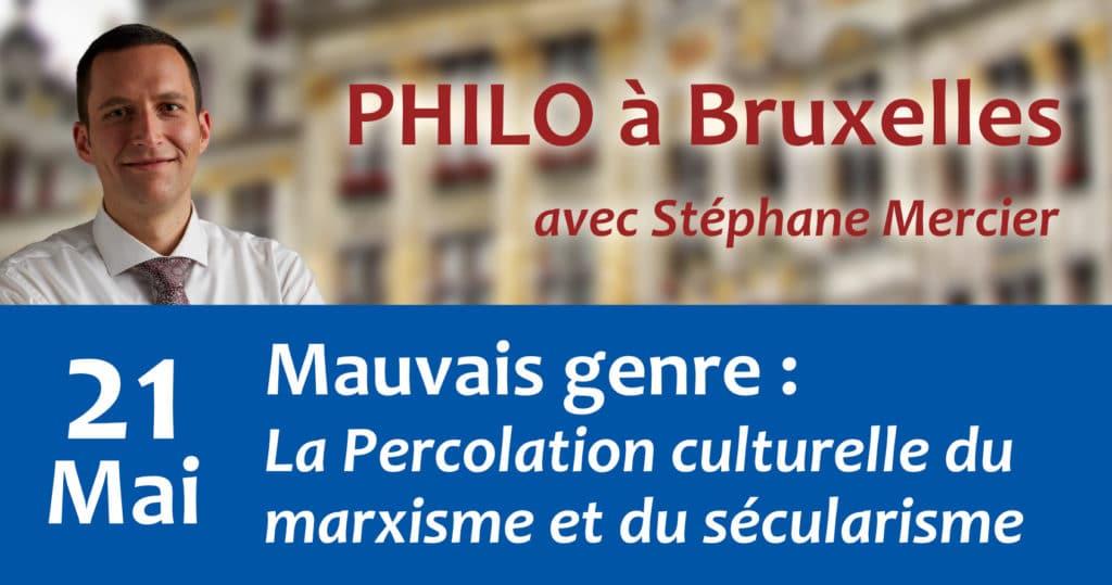 Mauvais genre : La Percolation culturelle du marxisme et du sécularisme - Stéphane Mercier