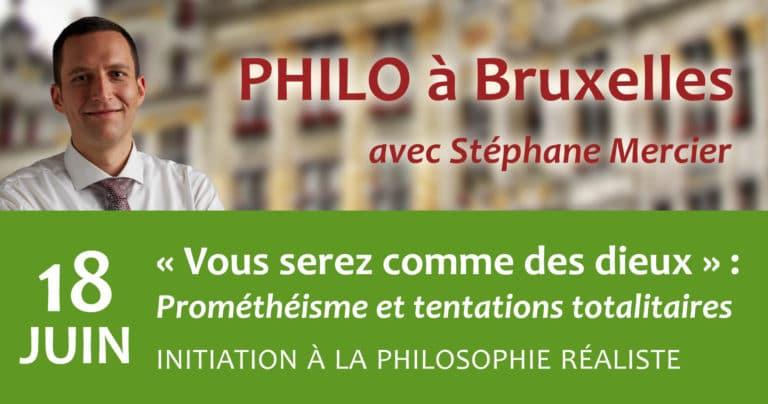 « Vous serez comme des dieux » : Prométhéisme et tentations totalitaires - Stéphane Mercier